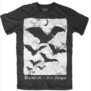 Blackcraft Cult x Rue Morgue Bat Tee Shirt